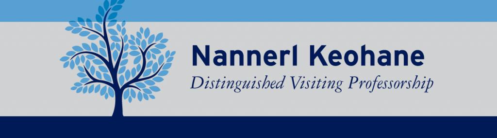 Keohane Professorship Banner